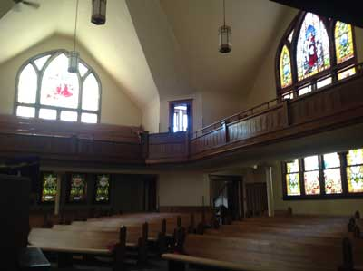 sanctuary Methodist Church Fairbury Illinois