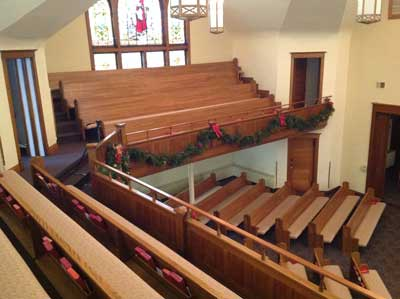 sanctuary Methodist Church Fairbury Illinois
