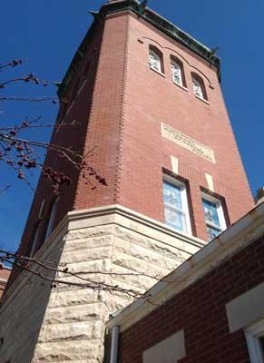tower, Methodist Church Fairbury Illinois
