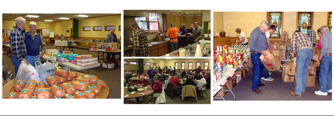 food donation pancake dinner mission work Fairbury Methodist Church