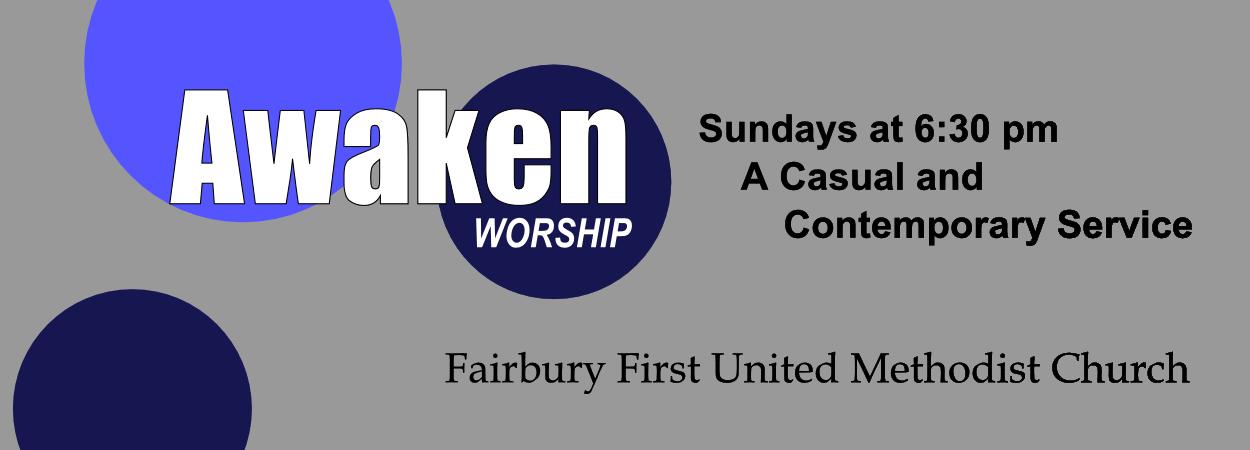 Awaken casual worship church service