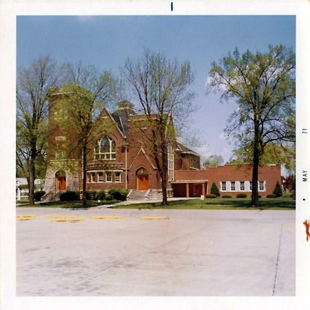 Image of the Fairbury IL Methodist Church